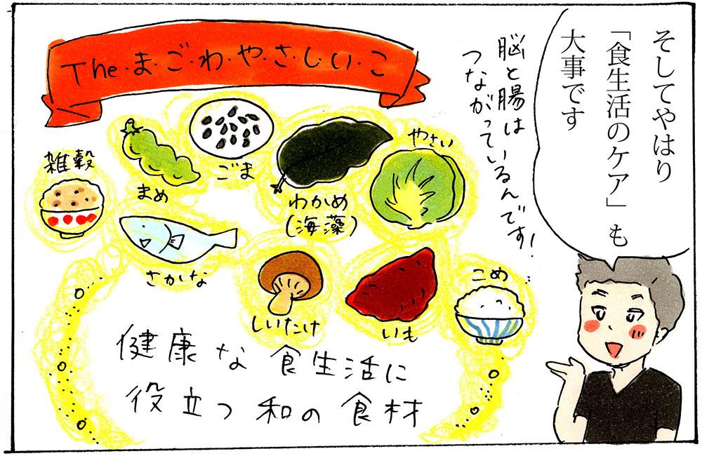 日本人本来の食生活まごわやさしいこ