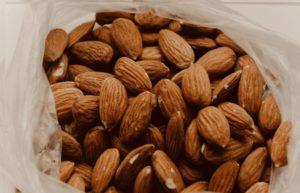 ビタミンEを最も多く含む食材のアーモンド
